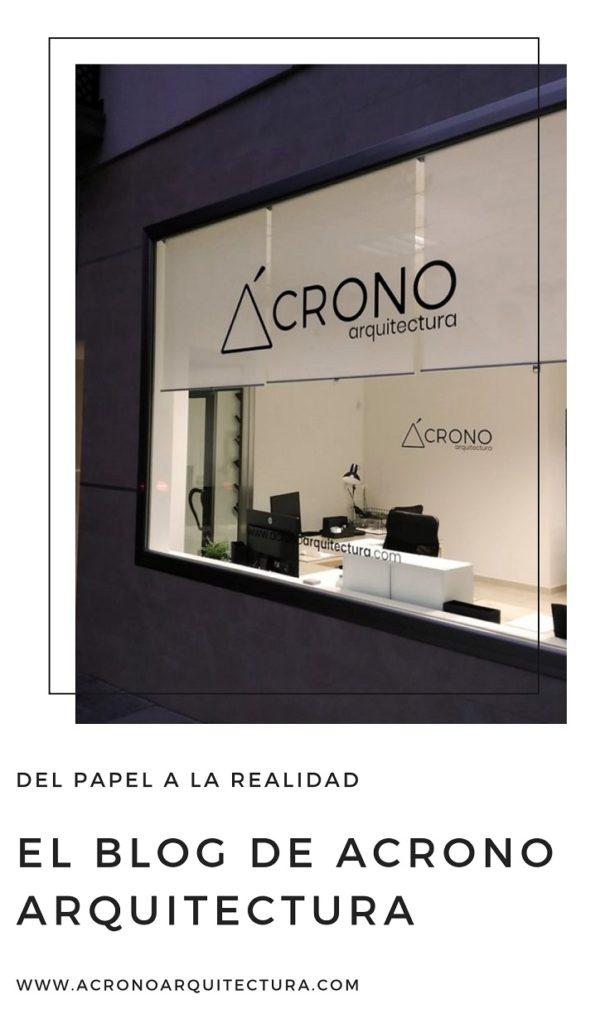 Acrono Arquitectura estrena Blog