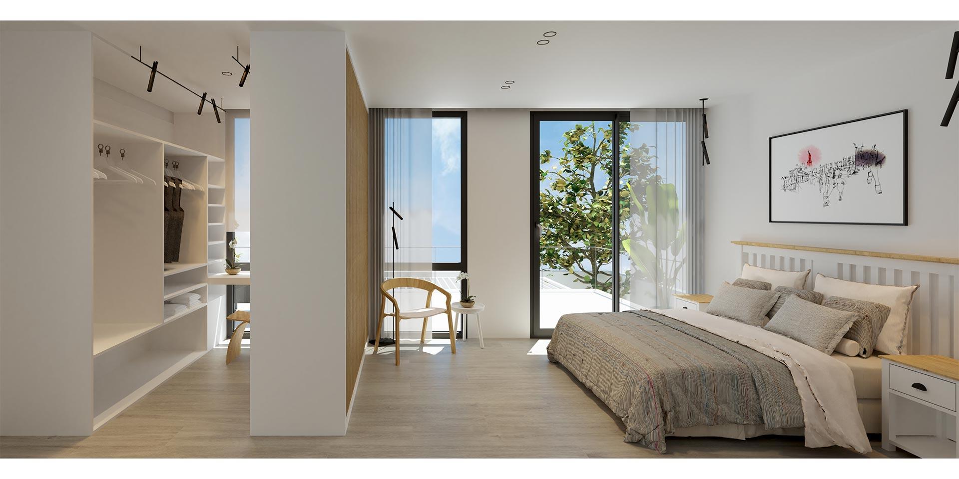 10.Dormitorio en suit