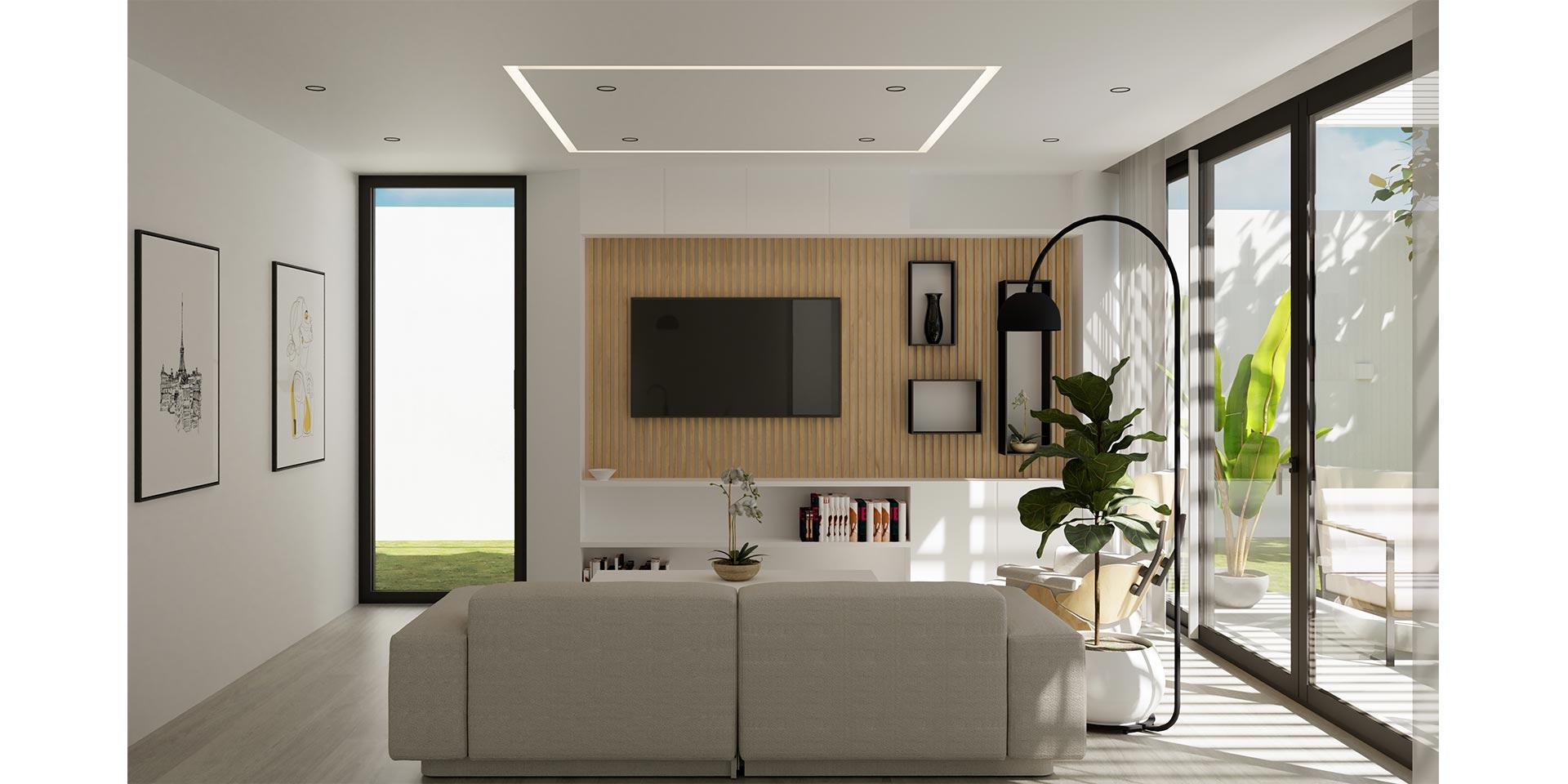 4.Salón desde cocina